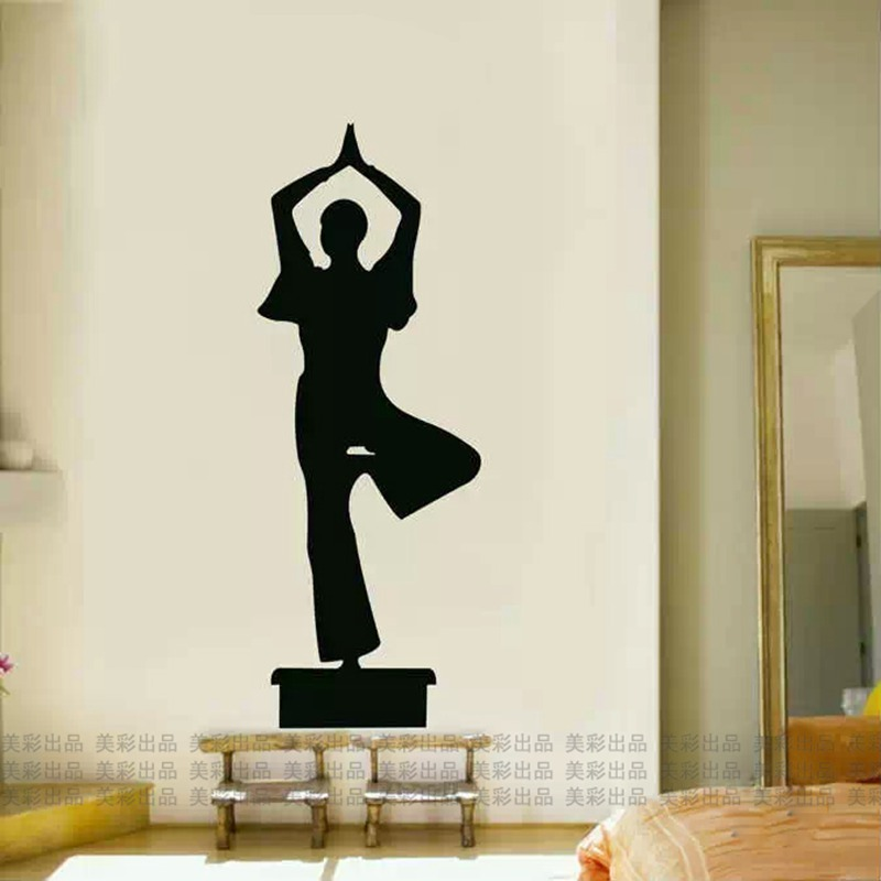 Home Decor Supply Dctal Buddha Quotes Namaste Wall Decals Yoga Mandala Wall Stickers Living Rooms Diy Home Decor Yoga Decoration