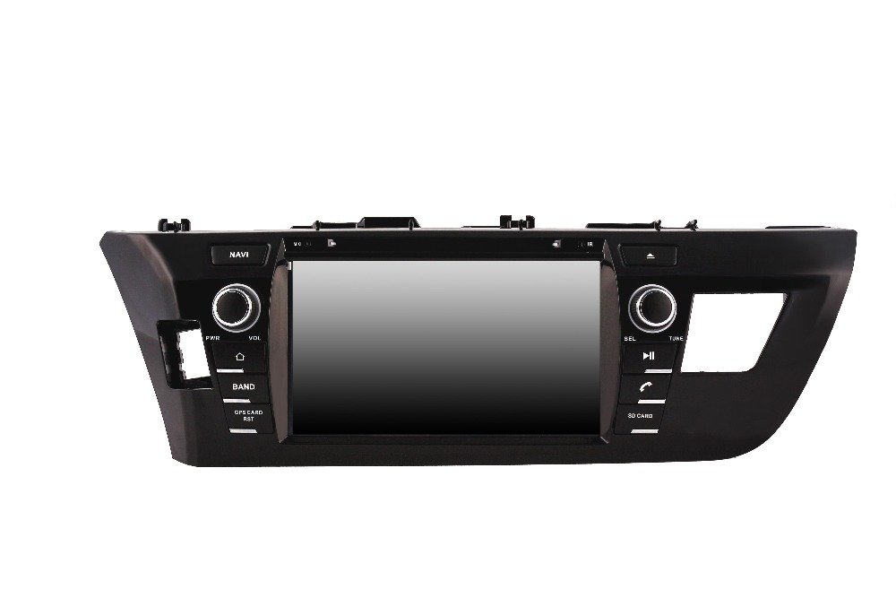 ROM 16G Quad Core Android 7.1 Fit TOYOTA Corolla Levin Left or Right Driving 2013-2015 CAR DVD PLAYER Multimedia Navigation dvd