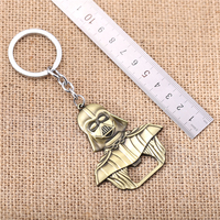 Julie 10 Pcs Star Wars Darth Vader Bar Beer Bottle Opener Alloy Silver Brown Keychain New