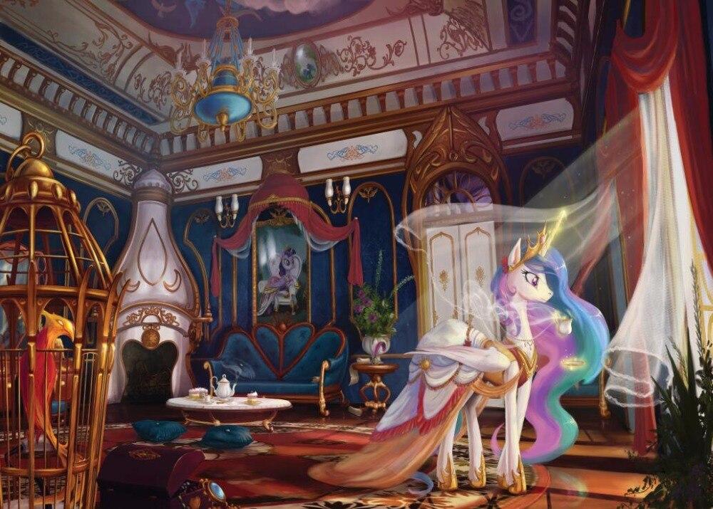 pony vinyl backdrops shanny studio interior