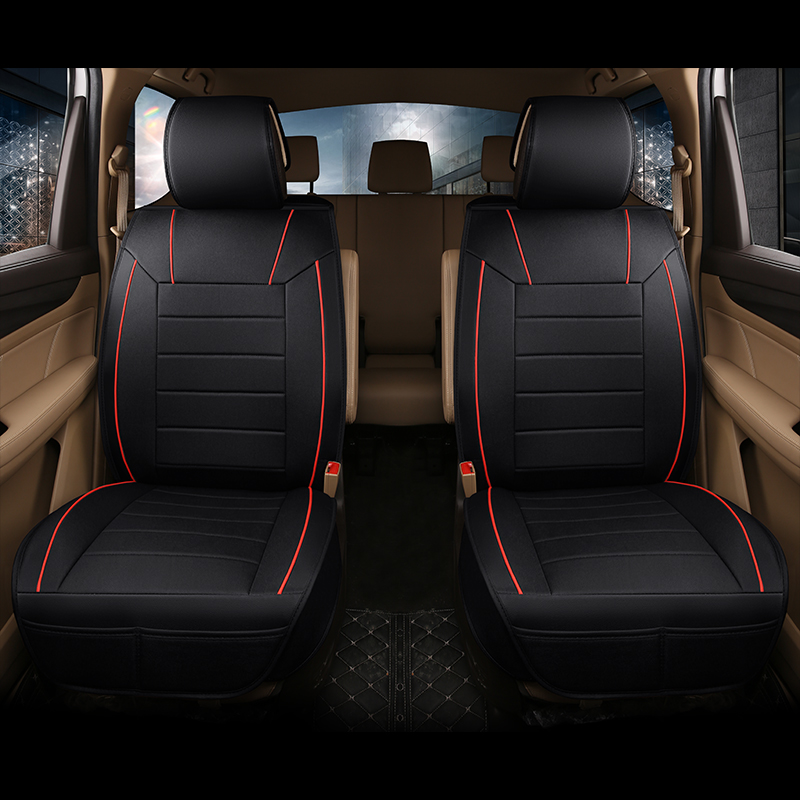 general models cushion of 7 seats car pu leather car seat cover auto accessories car styling for Prado,SUV