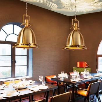 Скандинавский подвесной светильник с одной головкой, винтажная спальня с железным светильником, подвесной светильник в стиле ретро