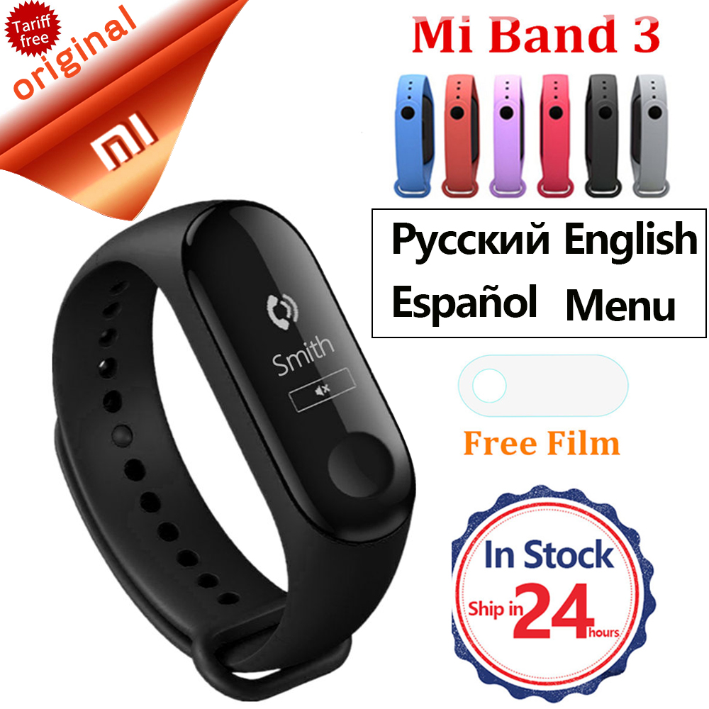 Xiao mi mi Band 3 Smart Armband Herz Rate Monitor mi band 3 Smart Band Wasserdichte Fitness Tracker Smart Armband mi Band 3