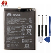 HuaWei Original HB386280ECW Battery For Huawei Honor 9 P10 Ascend P10 Genuine Replacement Phone Battery 3200mAh With Free Tools hua wei original battery hb386280ecw for huawei ascend p10 honor 9 mobile phone batteria li ion 3200mah tools