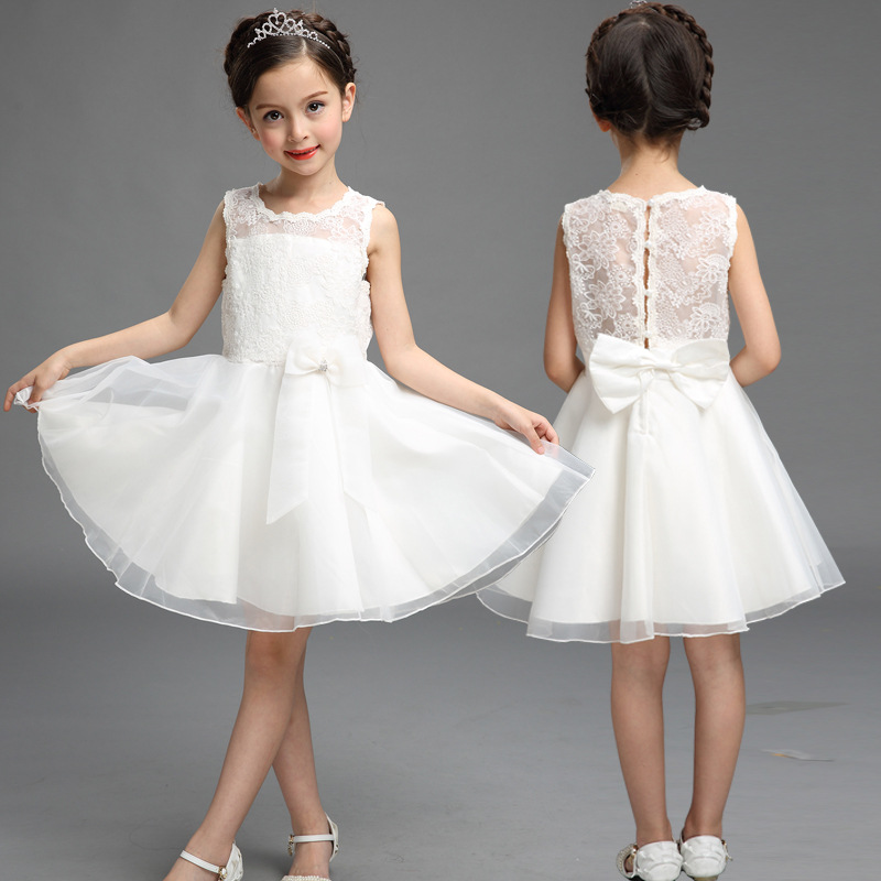 Fashion Girls Bow Dress Wedding Party Princess Christmas Dress For Girls Party Costume Kids Cotton Party GirlsFashion Girls Bow Dress Wedding Party Princess Christmas Dress For Girls Party Costume Kids Cotton Party Girls