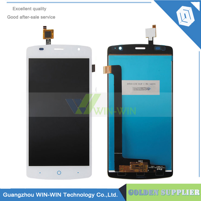 Подробнее о White/Black Full LCD DIsplay+Touch Screen Digitizer Assembly Replacement For ZTE Blade L5 Plus L0510 Free shipping 100% Tested white black for zte blade a610 td lte lcd display touch screen digitizer assembly replacement free shipping