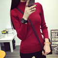 2131 2015 - the new autumn and winter half turtleneck Pullover Sweater stretch