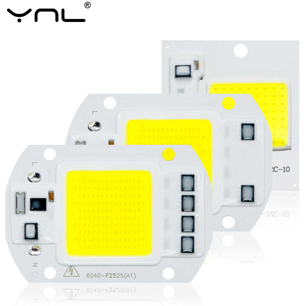CBO LED Chip 10W 20W 30W 50W No Need Driver Smart IC Chip LED Lamp Bead for Spotlight Floodlight Cold White Warm White