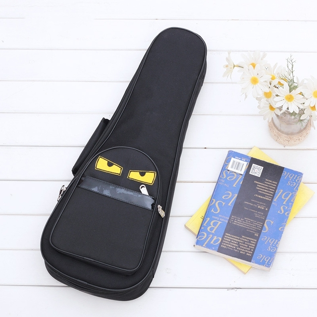Cartoon Printed Concert Ukulele Bags
