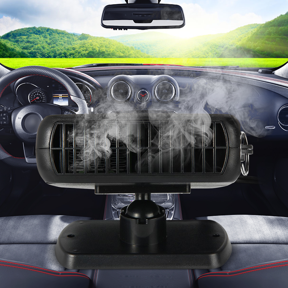 Hot Sale Portable 12V 150W Auto Car Heater Heating Fan with Swing-out Handle Driving Enthusiasts Car-Styling Defroster Demister portable 150w ptc car vehicle heating heater hot fan defroster demister dc 12v