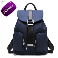 Aliwood Women S Backpacks High Quality Waterproof Nylon Leather Backpack Elegant Designer Rucksack School Bags Travel