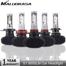 2 шт. H4 H7 светодиодный лампы фар CSP чип 9005 HB3 9006 HB4 H8 H9 H11 H4 авто лампы 6500 К 8000LM туман лампа автомобилей налобный фонарь
