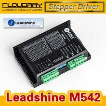 Leadshine 2 Фазы Аналоговый Шагового Водитель M542 Макс 50 В ПОСТОЯННОГО ТОКА 4.2A Шагового Двигателя NEMA 23
