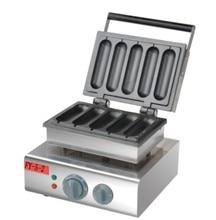 Free shipping 110V 220V 5 PCS Hot dog waffle maker Lolly waffle stick