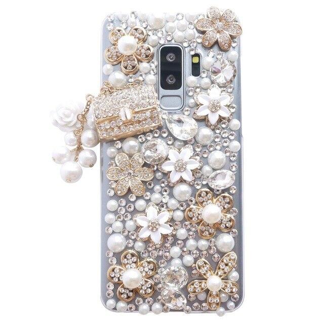 662d5a8ad Dir-Maos For Samsung GALAXY A Series A9 Star A8 A7 A6 A5 A3 Case Cute Girl  Diamond Clear Cover Luxury Women 2015 2016 2017 2018