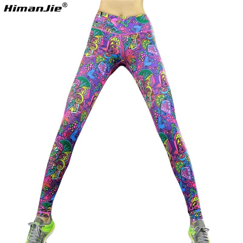 Prix pour Date Sexy Femmes Sport Leggings Remise En Forme De Yoga Pantalon Belle Couleurs Taille Haute Stretch Gym Sport Vêtements de Course Collants Legging