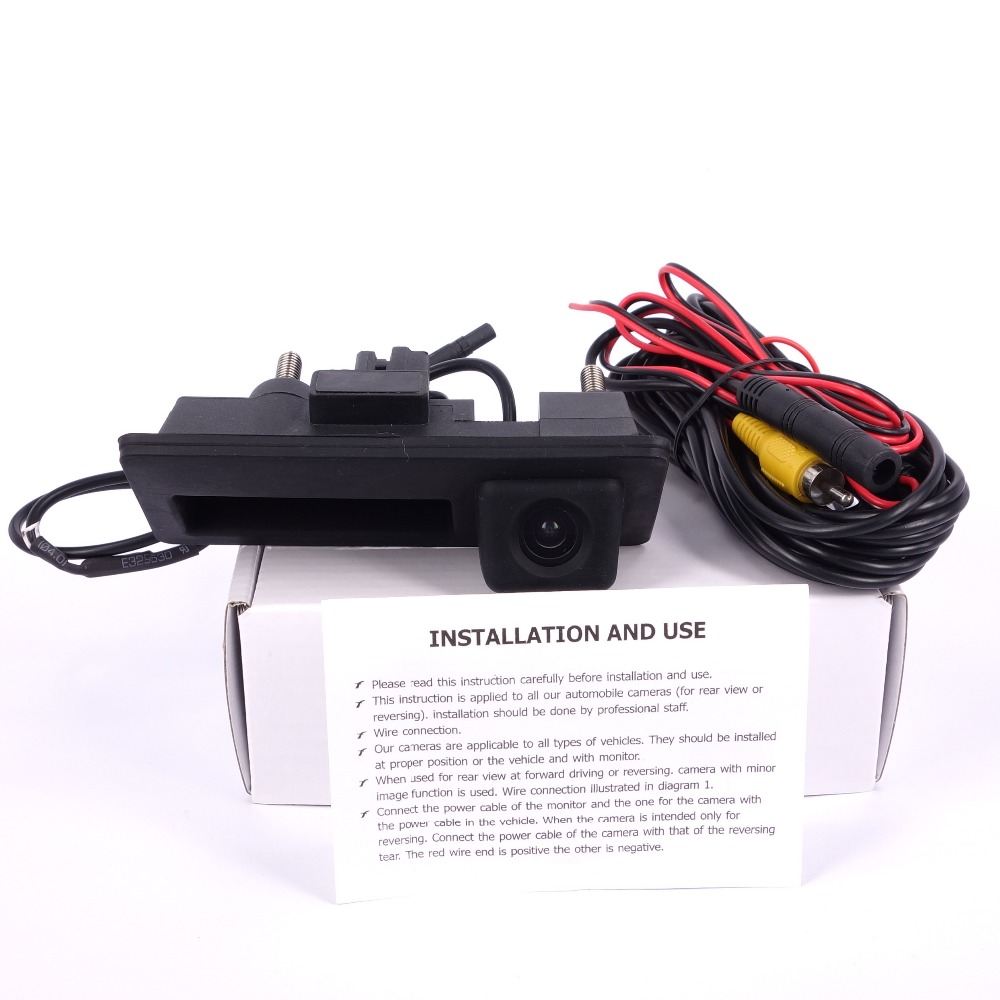 HD rəngli CCD avtomobili Arxa görünüşlü idarəetmə VW pass / - Avtomobil daxili aksesuarları - Fotoqrafiya 2