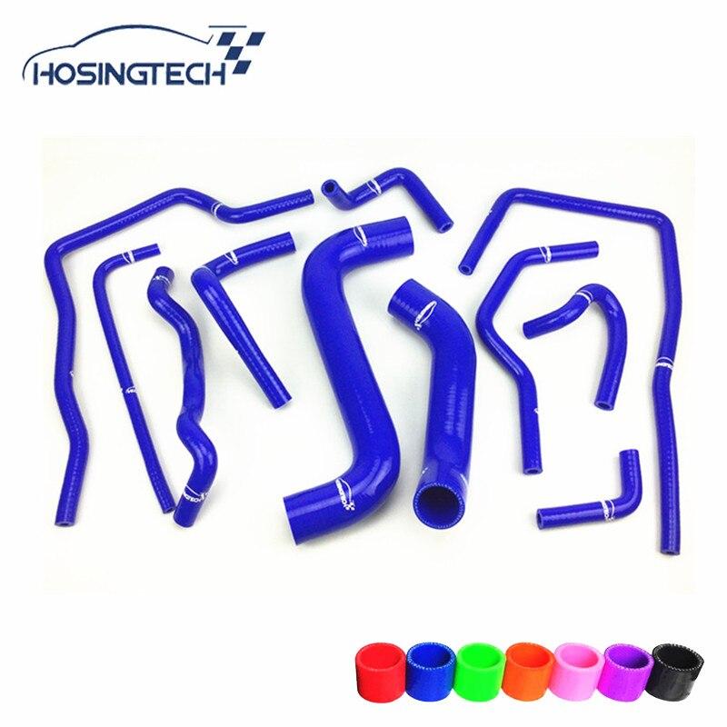 HOSINGTECH-pour Subaru Impreza WRX/STi GDB, EJ20 Silicone radiateur tuyau KitsHOSINGTECH-pour Subaru Impreza WRX/STi GDB, EJ20 Silicone radiateur tuyau Kits