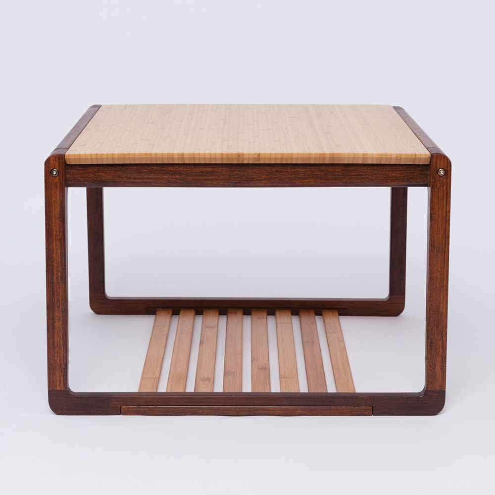 Zen S Bamboo Square Tea Table Modern Chinese Style Coffee Wooden Living Room Home Furniture In Tables From On