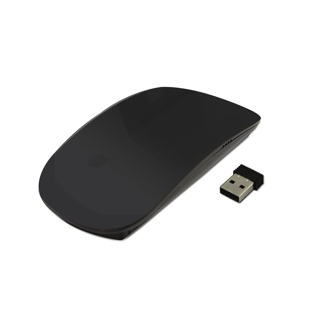 97382a0fcf2 2.4Ghz Wireless Touch Mouse Ergonomic 800 1000 1200 DPI Optical Computer  Mice Smooth Surface Slim Mouse For PC Laptop Notebook-in Mice from Computer  ...