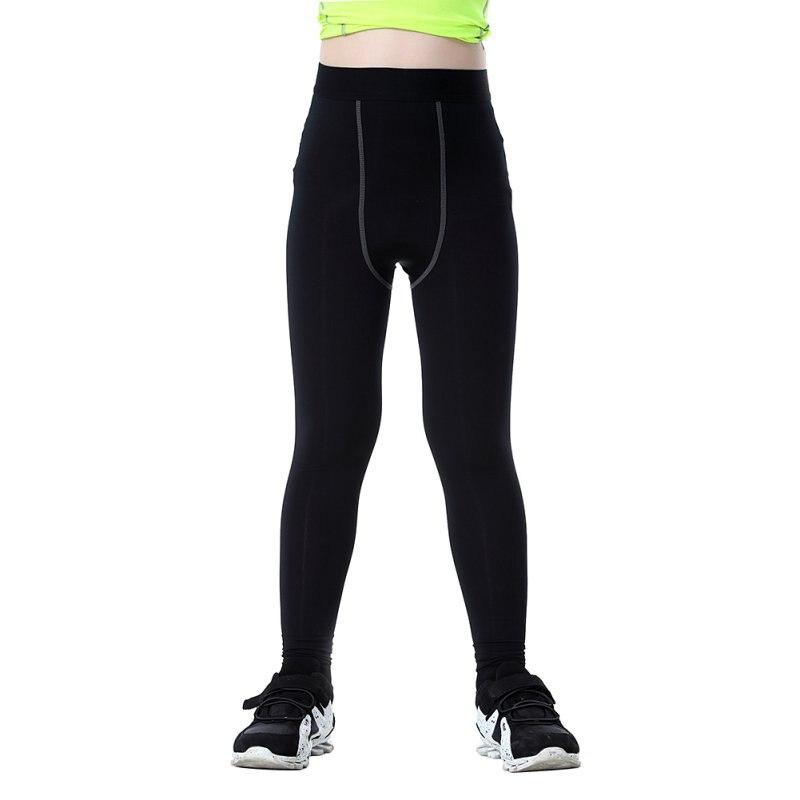 2018new Nice Compressie Jongens Base Layer Running Panty Huid Slijtage Fitness Lange Broek Een Effect Produceren Voor Een Heldere Visie