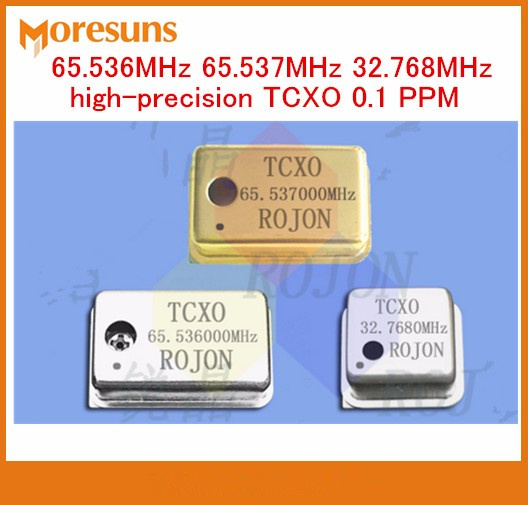 Fast Free Ship 3pcs/lot 65.536MHz 65.537MHz 32.768MHz high-precision TCXO 0.1 PPM temperature-compensation crystal oscillator