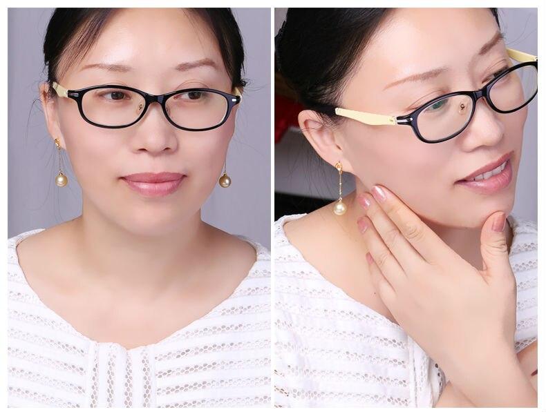 gold pearl earrings 88