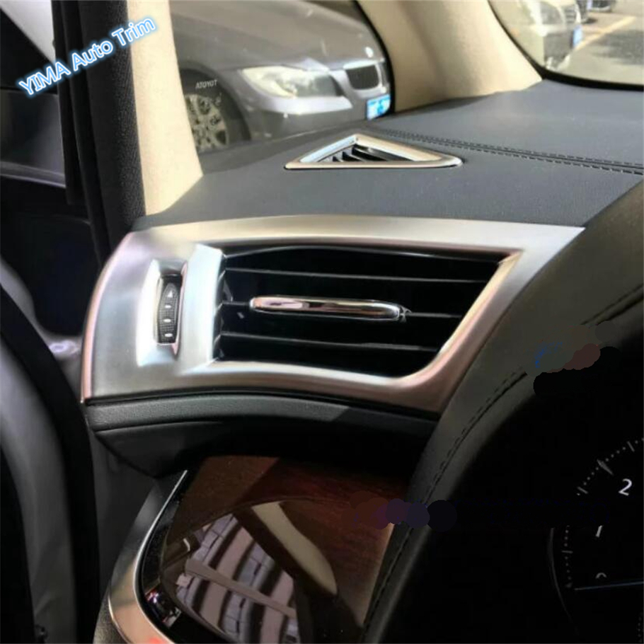 US $18 63 19% OFF|Lapetus Car Styling Dashboard Air Conditioning AC Outlet  Vent Cover Trim Fit For Toyota Alphard / Vellfire AH30 2016 2019-in