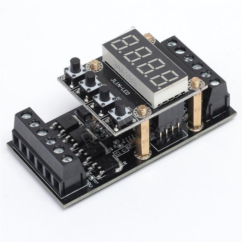 FX1N_10MT PLC Industrial Controller Board LED Display Delay Module Digital Tube 10V-24V DC
