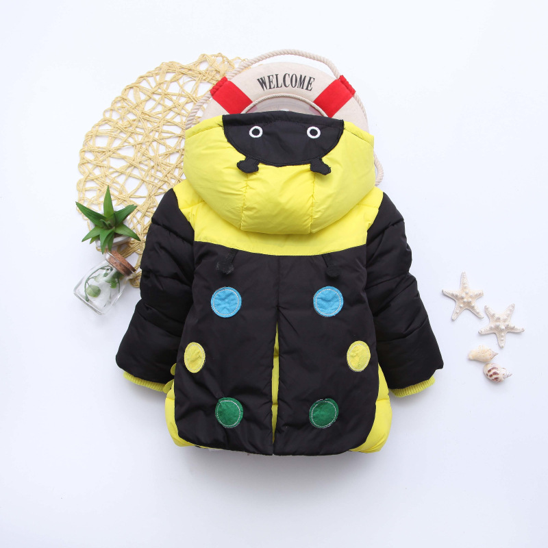 Thicken Girls Winter Coat Kids Clothes Casual Warm Casaco Outerwear Baby Snowsuit Jacket Sobretudo Down Parka Children Clothing