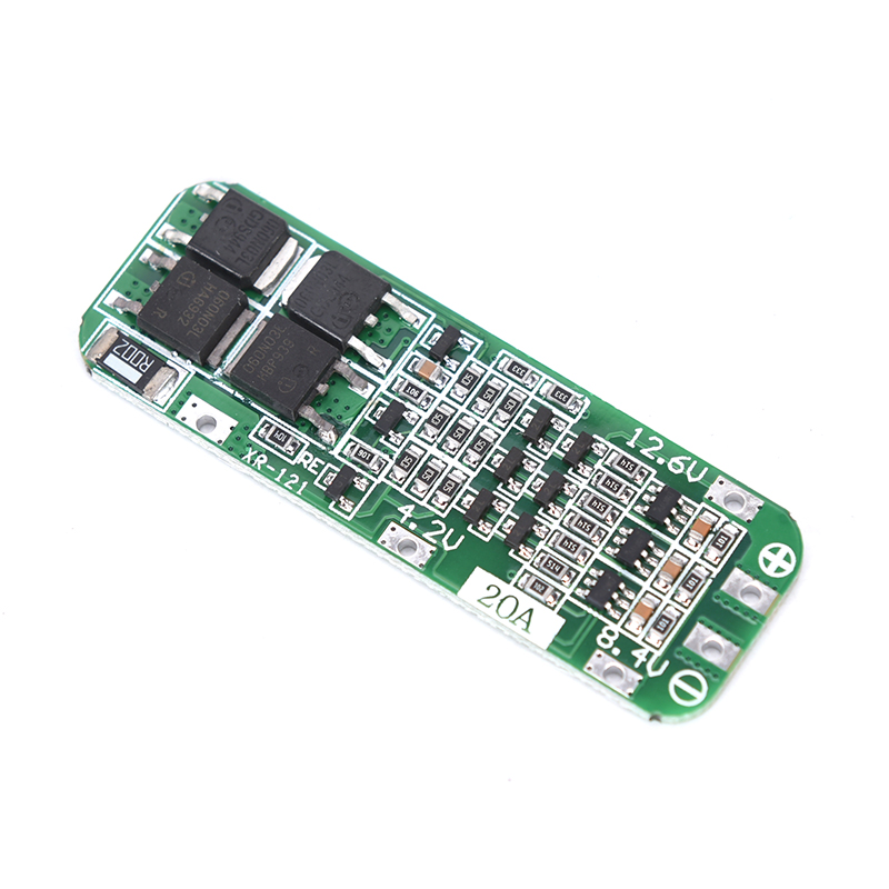 3S PCB 3S 20A 12.6V Charging Protecting Balancer Module AUTO Recovery Protection Board Lithium Battery Charger Protection Board