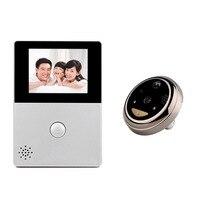 2 8 LCD Wifi Peephole Wireless APP Smart Video Doorbell Night Vision HD Camera Door Intercom