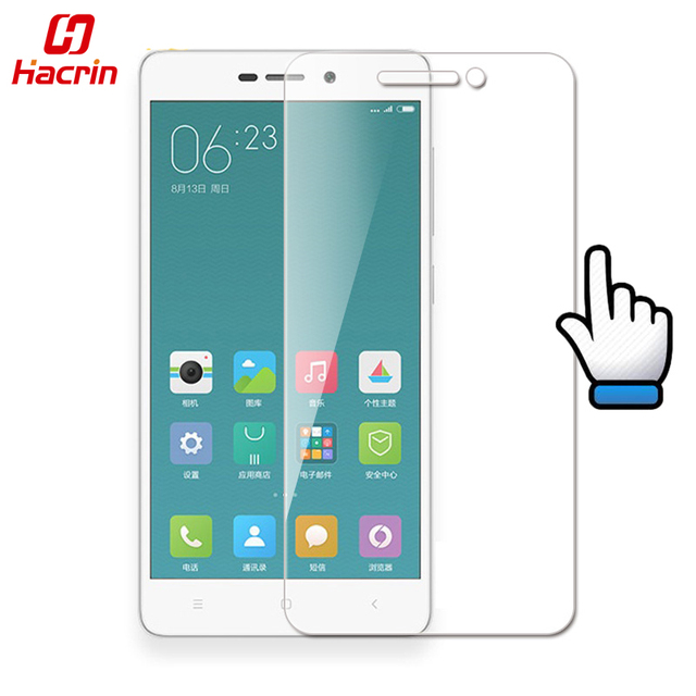 hacrin Xiaomi Redmi 3 Tempered Glass 5.0inch 9H 2.5D Premium Screen Protector Film For redmi 3S 3X redmi3 hongmi 3 Pro
