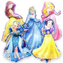 Taoqueen мультфильм шляпа 93*55 см большая принцесса фольги Воздушные шары ребенок день рождения украшение гелиевые шары мультфильм шляпа