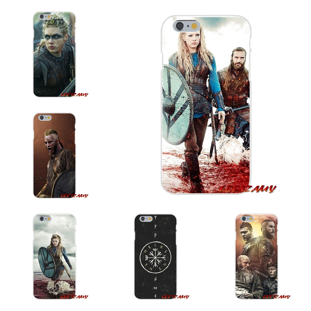 Accessories Phone Shell Covers For Samsung Galaxy S3 S4 S5 MINI S6 S7 edge S8 S9 Plus Note 2 3 4 5 8 Vikings TV show