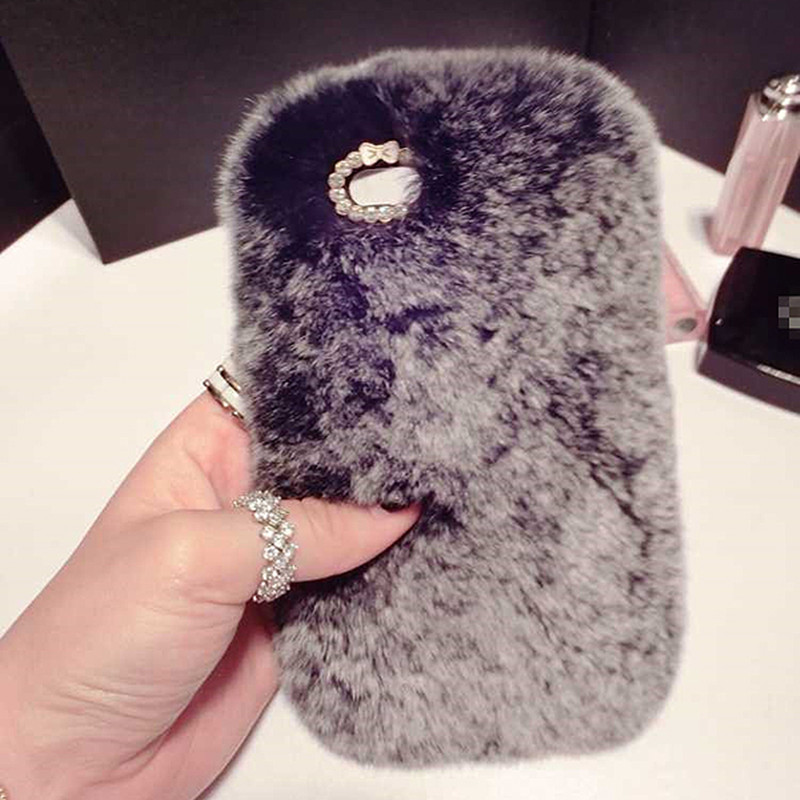 apple iphone 7 case fluffy