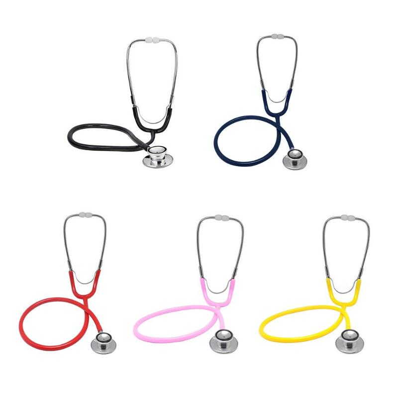 Professional Portable Dual Head EMT Clinical Stethoscope Device For Doctor Medical Auscultation Device Equipment Tool
