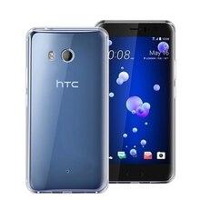Super Soft Crystal TPU Phone Case For HTC U11 Life Plus Transparent Clear Silicone Back Phone Cover