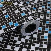 Beibehang 60X500 센치메터 욕실 벽 스티커 PVC 모자이크 벽지