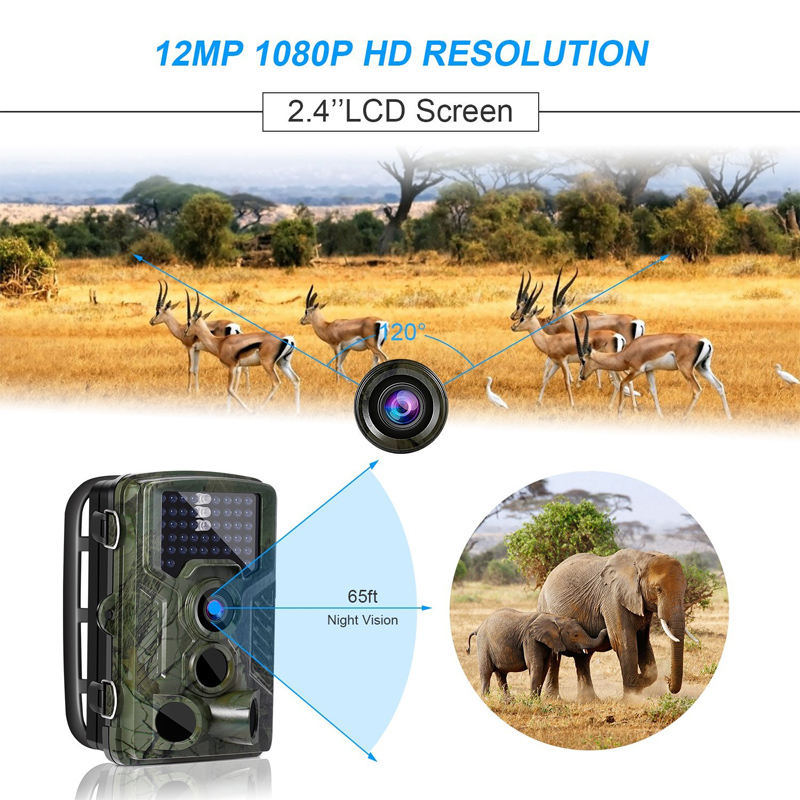 12MP 1080P HD Night Vision Camera IR Infrared Hunting Monitor Surveillance 2.3Inches ScreenB HD Sports Camera for Hunting Camera12MP 1080P HD Night Vision Camera IR Infrared Hunting Monitor Surveillance 2.3Inches ScreenB HD Sports Camera for Hunting Camera