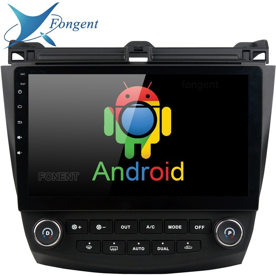 For Honda ACCORD 7 2003 2004 2005 2006 2007 Car Android Radio Multimedia DVD Player GPS Intelligent Multmiedia Unit Stereo Audio пенни борд hubster cruiser 22 metallic purple