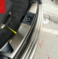 2011-2015 For Jeep Compass Tail Door Inner Bumper Protector Guard Sill Stainless