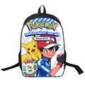 Anime Pokemon Daily Backpack Cartoon Pikachu Printing School Bags Boys Girls For Teenagers Gift Backpacks Schoolbags Mochila