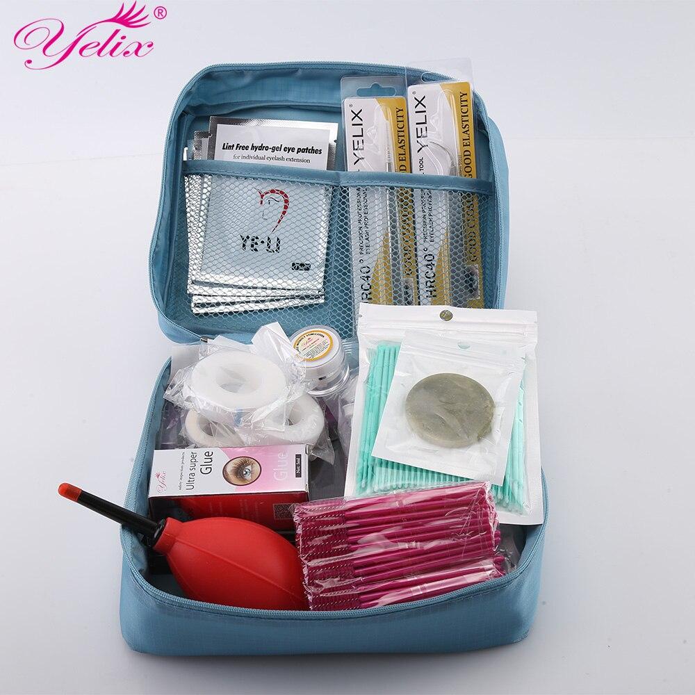 все цены на Professional Makeup Eye Lashes Tools kit Natural False Eyelash Extension Tool Mink eyelashes Beauty Tools set 12 kinds