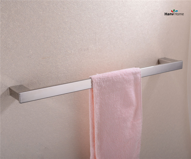 304 Stainless Steel Chrome Towel Bar,Towel Holder, Bathroom  Accessories