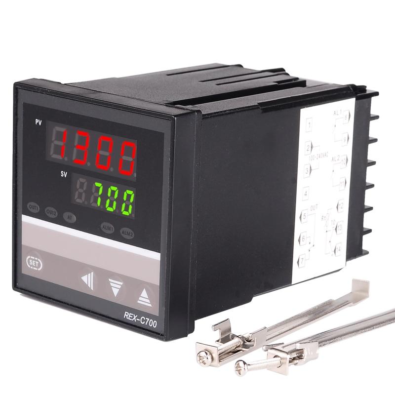 NAUJAS 1PCS kintamos srovės 220 V krosnies temperatūros valdiklis - Matavimo prietaisai - Nuotrauka 2