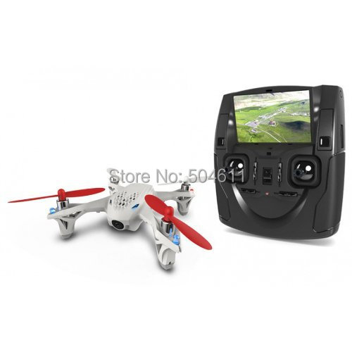 Hubsan X4 H107D 2 4G 4 CH LCD Remote Control UFO Quadcopter w 0 3MP Camera