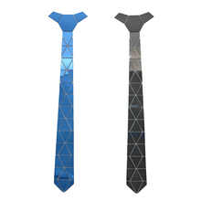 GEOMETIE Handmade Geometric Shape Little Diamond  Neck Ties W/ 2 Colors Options