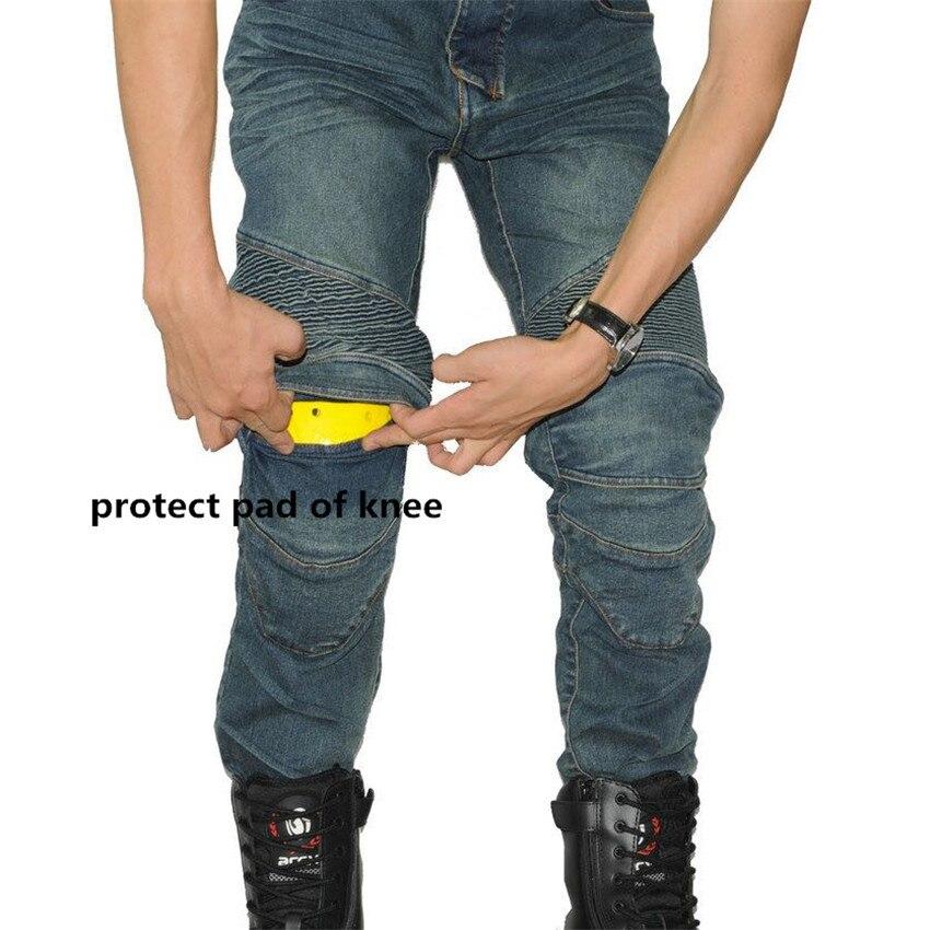 PK717 MOTORPOOL VOLERO Classic UGB Blue Black Trouser Slacks Jeans Motorcycle Ride Jeans Leisure Loose Version