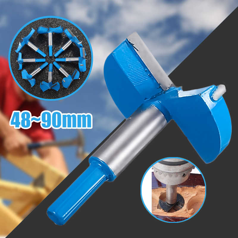 Drill Bits Cemented Carbide Forstner Boring Woodworking Hole Saw Cutter